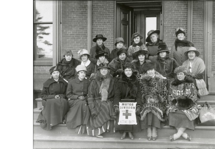 Women in Red Cross Motor Division