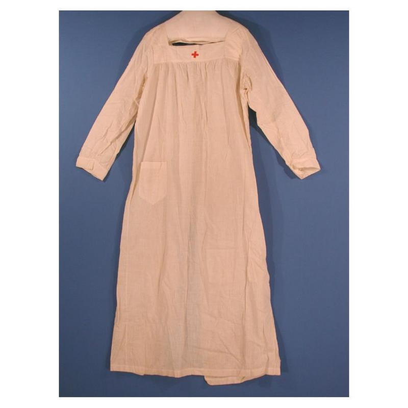 Red Cross Nurse's Uniform Smock