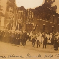 Thomaston's Welcome Home Parade July 19, 1919