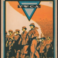 For Every Fighter A Woman Worker Y.W.C.A.: Back Our Second Line of Defense