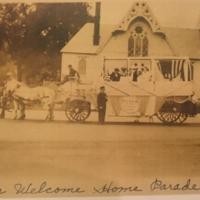 Nurses in Thomaston's WWI Welcome Home Parade