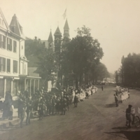 Main Street, Thomaston in WWI Welcome Home Parade