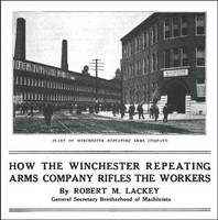 Winchester Workers Strike before WWI