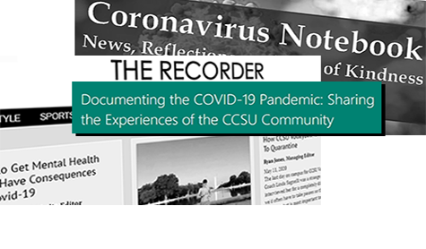 Image of other CCSU pandemic sites to encourage submission to the pandemic archive