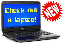 Check out a laptop!