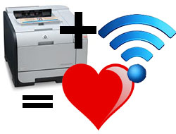 Wireless printing, now at the library!