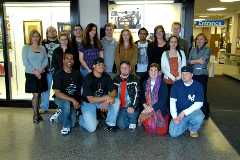 CCSU student exhibitors