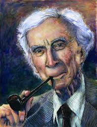 Portrait of Bertrand Russell