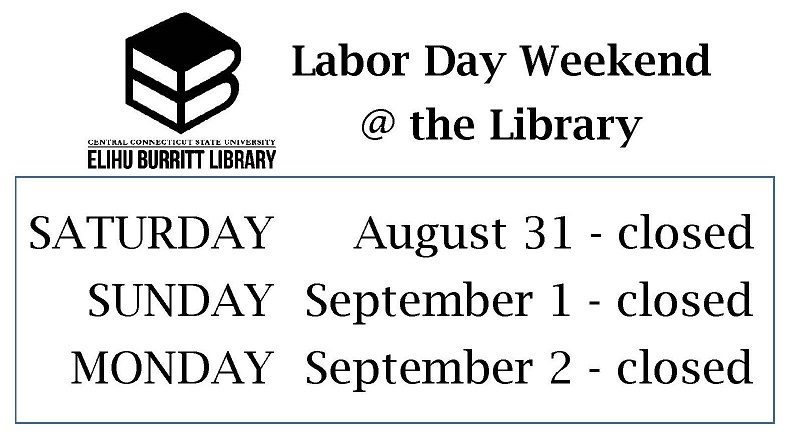 Labor Day Weekend Hours Sign